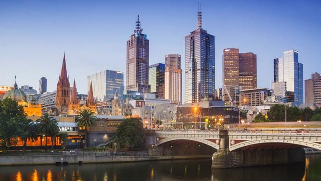 Melbourne has some of Australia's highest earners.