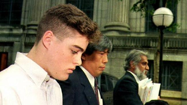 Sentenced to caning in Singapore, teenager Michael Fay was initially given four months prison and six strokes from the rattan for spray painting cars.