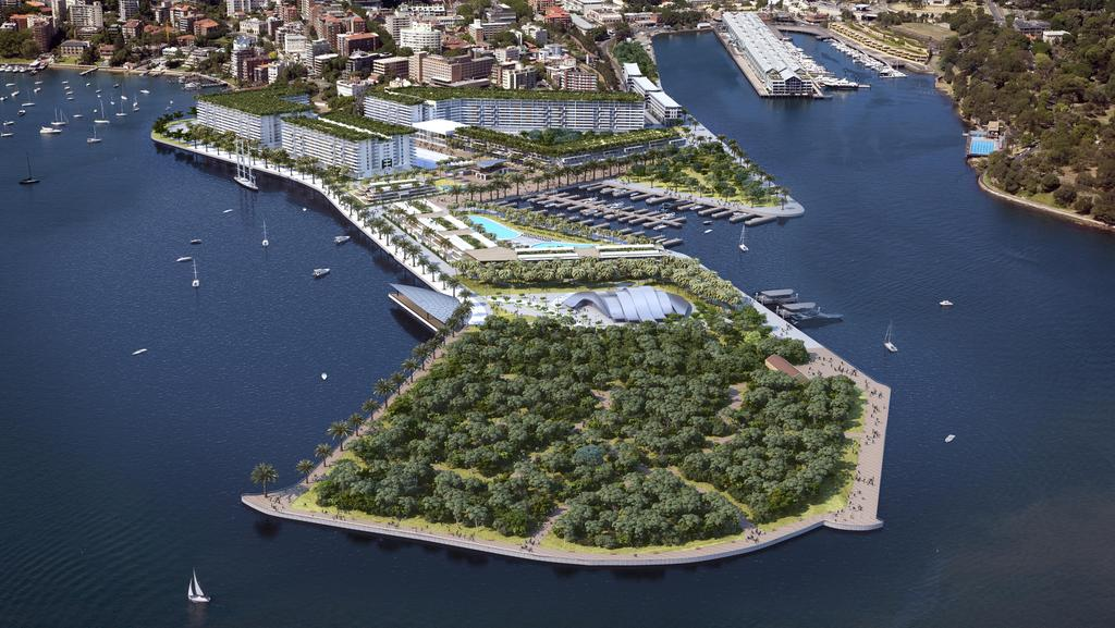 Garden Island Would Transform From Navy Base Into 20bn