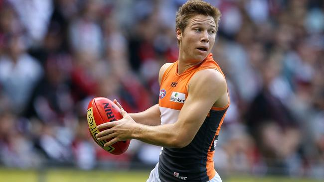 Toby Greene return for GWS Giants after a club-imposed ban.
