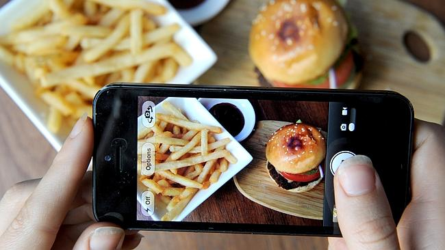 Beware Instagrammers - you may be turning people off their food.