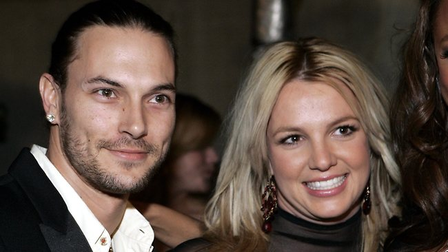 Pop singer Britney Spears ended her marriage to husband Kevin Federline in a text sent during a TV interview. (AP Photo/Danny Moloshok)