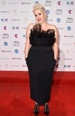Katie Noonan arrives on the red carpet for the 30th Annual ARIA Awards 2016 at The Star on November 23, 2016 in Sydney, Australia. Picture: AAP