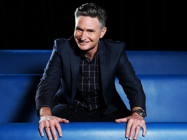 Comedian Dave Hughes is hosting a new TV show ' <i>Hughesy...We Have A Problem</i>'. Picture: Tim Hunter
