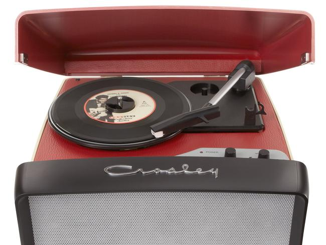 Crosley Collegiate Portable USB Turntable from Myer.