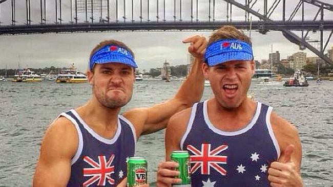 Australia Day Instagram and Twitter images. Tom Steinfort Picture: Supplied