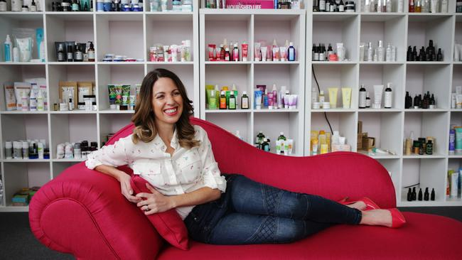 Irene Falcone was a finalist in the Telstra Women's Business Awards. Picture: Toby Zerna