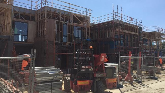 A house under construction in Monterey Drive, Cheltenham, will be offered to a Victorian family to live there rent and bills free for one year.