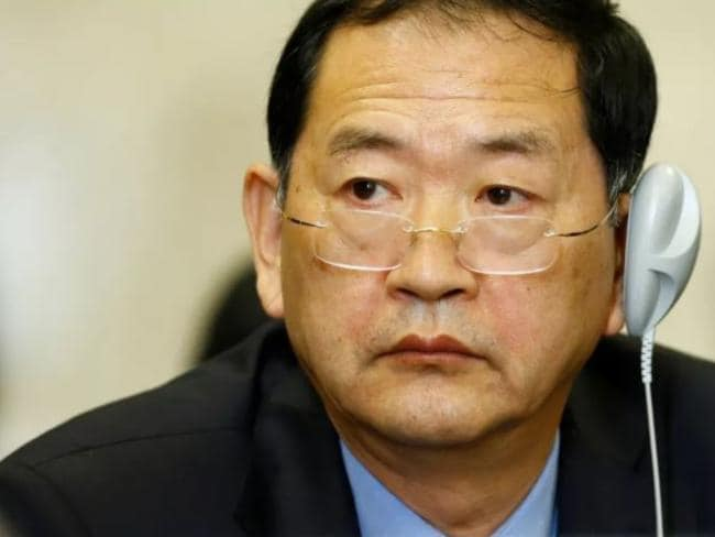 North Korea's ambassador to the United Nations Han Tae Song. Picture: Supplied