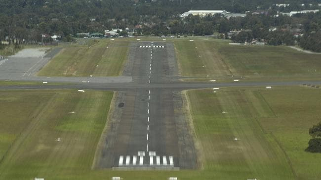 Illawarra Regional Airport at Albion Park, where the drugs were imported. Picture: Simon Bullard