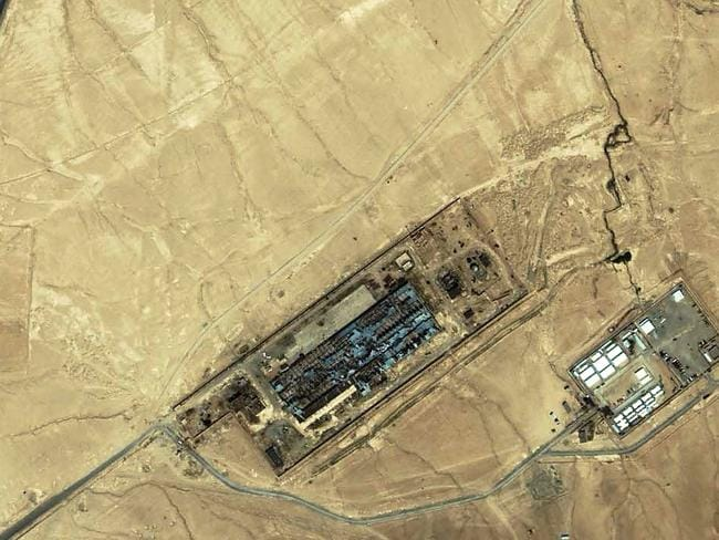 "This file photo taken on July 17, 2003 shows a suspected ""black site"" facility near the Afghan capital of Kabul. The Trump administration is drafting an order allowing the CIA to reopen overseas ""black site"" prisons used to torture suspects after 9/11, media reported January 25. Picture: AFP"