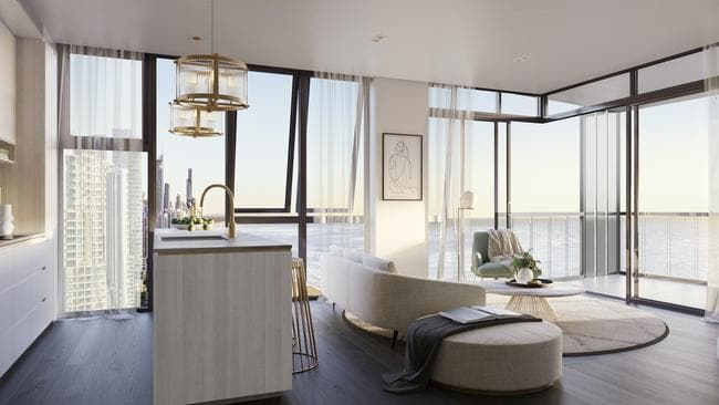 gold coast development construction on a 21 storey. Black Bedroom Furniture Sets. Home Design Ideas