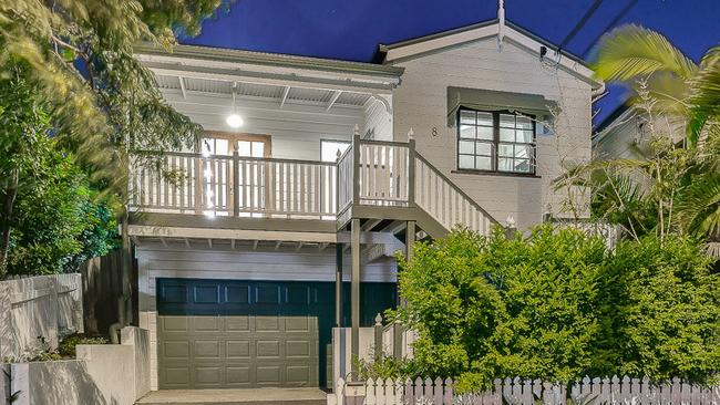 A four-bedroom house in Brisbane sold for more than the median house price. Source: Supplied