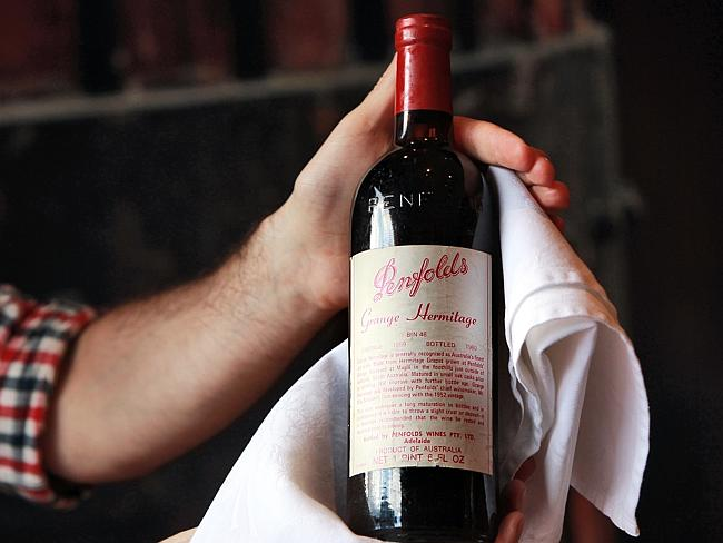 O'Farrell: 'If I had received a bottle of 1959 Penfolds Grange I would have known about it.'