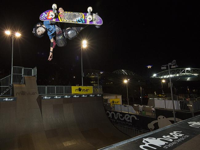 Monster Skate Park Is Located At Sydney Olympic Picture Daniel Aarons