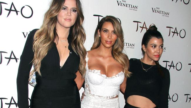 The Kardashians are fans of Tao's Las Vegas branch. Kim had her 34th birthday there. Picture: Rex Features / Splash News Splash News and Pictures Los Angeles: 310-821-2666 New York: 212-619-2666 London: 870-934-2666 photodesk@splashnews.com