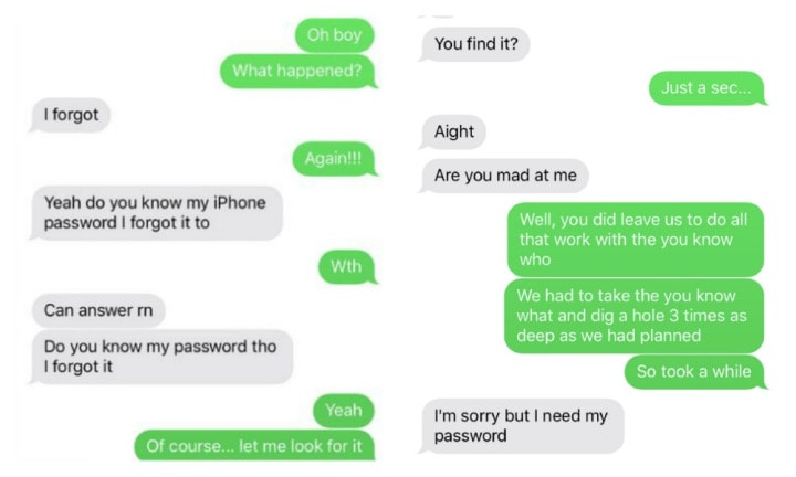 Sibling hilariously trolls thief who stole sister's phone, and it works
