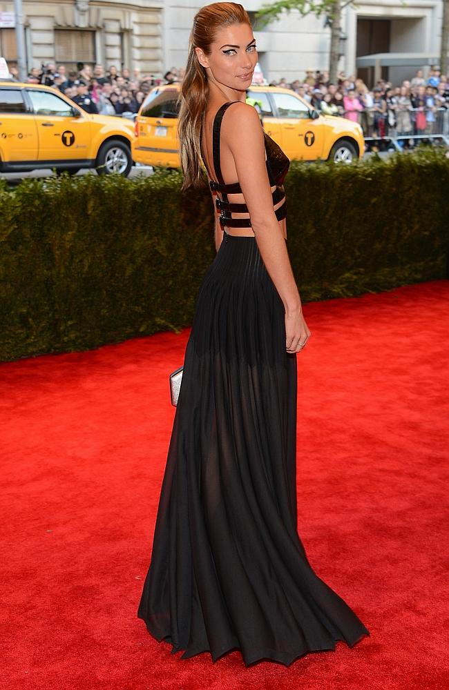 """She pulls off punk at the Costume Institute Gala for the """"PUNK: Chaos to Couture"""" MOMA e..."""