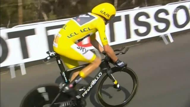 Froome on margin after stamping Tour authority