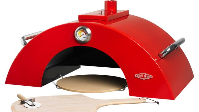 Beefeater pizza oven.