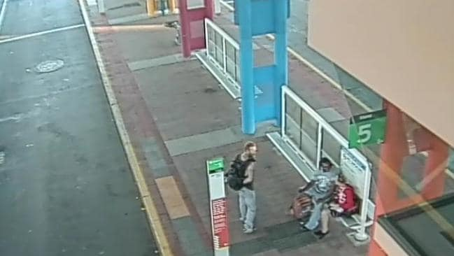 Police are looking for the men responsible for an attack at the Morley bus port.