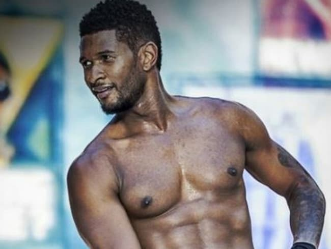 Sex tape ... The video is said to involve Usher and his former wife Tameka. Picture: Supplied.