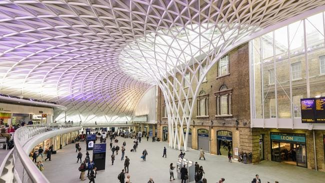 Londons King's Cross Station has one a slew of awards.