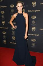 Megan Barnard at the 2017 Dally M Awards held at The Star in Pyrmont. Picture: Christian Gilles