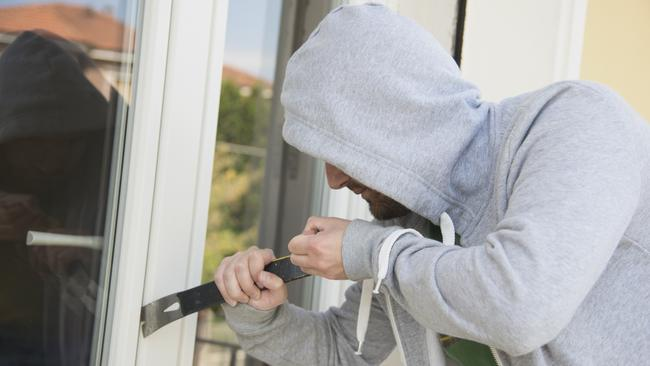 Installing a home security system can reduce the risk of being burgled.