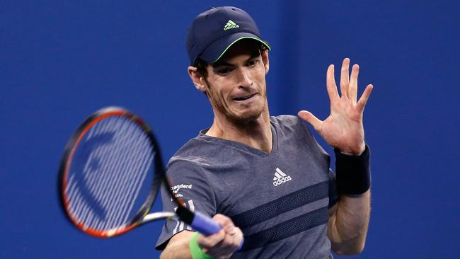 Andy Murray breezed into the US Open's third round.