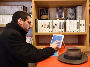 A book store where you print on demand