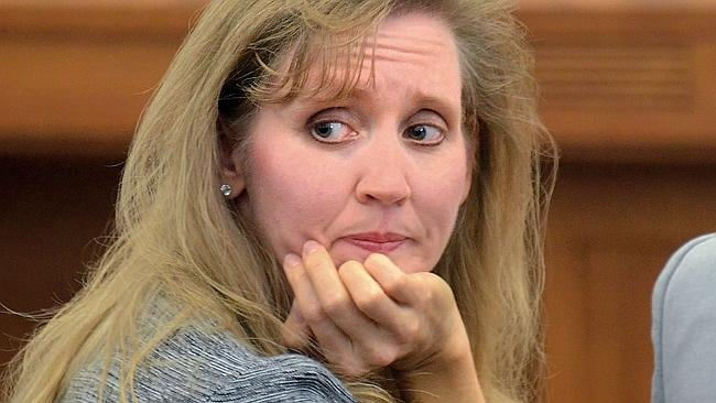 Carrie Williams in court. Photo: AP