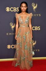 Yara Shahidi attends the 69th Annual Primetime Emmy Awards at Microsoft Theater on September 17, 2017 in Los Angeles. Picture: Getty