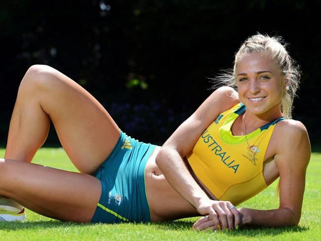 LaCaze was rated among the Games' hottest athletes.