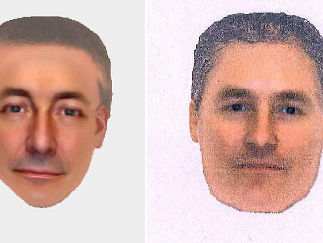 Electronic images ... from the British Metropolitan Police show a man that detectives want to contact in connection with the 2007 disappearance of Madeleine McCann in Portugal. Picture: AFP