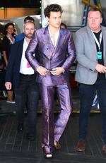 Harry Styles arrives on the red carpet for the 31st Annual ARIA Awards 2017 at The Star on November 28, 2017 in Sydney, Australia. Picture: Getty