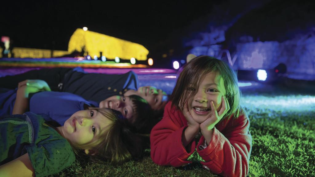 Vivid Sydney is a delight for youngsters, with loads of interactive installations to challenge kids' imaginations. Pictures: Vivid Sydney