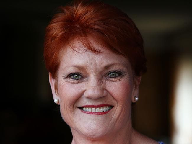 Pauline Hanson has announced plans to lobby Federal Treasurer Scott Morrison to allow police officers to claim target practice ammunition as a tax deductible expense. Picture: Getty