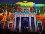 Northern Lights at the Adelaide Fringe on North Terrace. AAP Image/MATT LOXTON