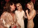 Elizabeth Rodriguez, Meryl Streep and Emily Blunt during The 23rd Annual Screen Actors Guild Awards at The Shrine Auditorium on January 29, 2017 in Los Angeles, California. Picture: Getty
