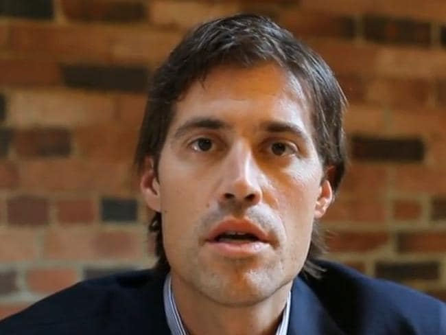 Kidnapped before ... Vision of US journalist James Foley describing his abduction in Libya.