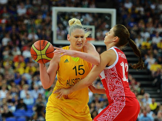 But Jackson, who won four Olympic medals, has battled inner demons since leaving basketball behind. Picture: News Corp