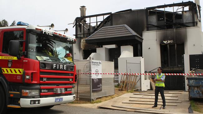 A Fire At Mosman Park Home Caused An Estimated 6 Million In Damage Picture Sean Middleton