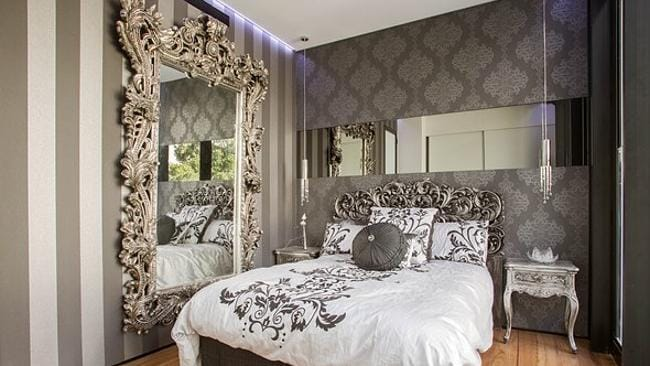 One of the beautiful bedrooms. Picture: Courtesy Foxtel/Nick Wilson