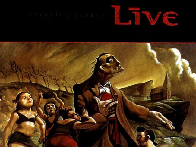 Superstars ... Throwing Copper made Live one of the biggest bands in the world.