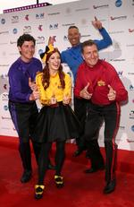 The Wiggles arrive on the red carpet for the 30th Annual ARIA Awards 2016 at The Star on November 23, 2016 in Sydney, Australia. Picture: Getty