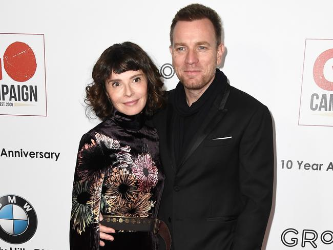 Actor Ewan McGregor and his now estranged wife Eve Mavrakis pictured in 2016 before their split. (Photo by Frazer Harrison/Getty Images)