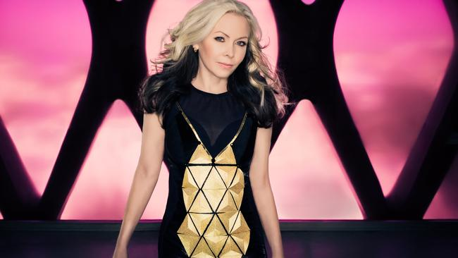 Singer Terri Nunn from '80s new wave band Berlin for National Hit.