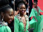 Lupita Nyong'o attends the opening ceremony and premiere of 'La Tete Haute' ('Standing Tall') during the 2015 Cannes Film Festival. Picture: Getty