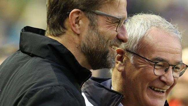 Jurgen Klopp and Claudio Ranieri are both in unexpected positions at this stage of the season.